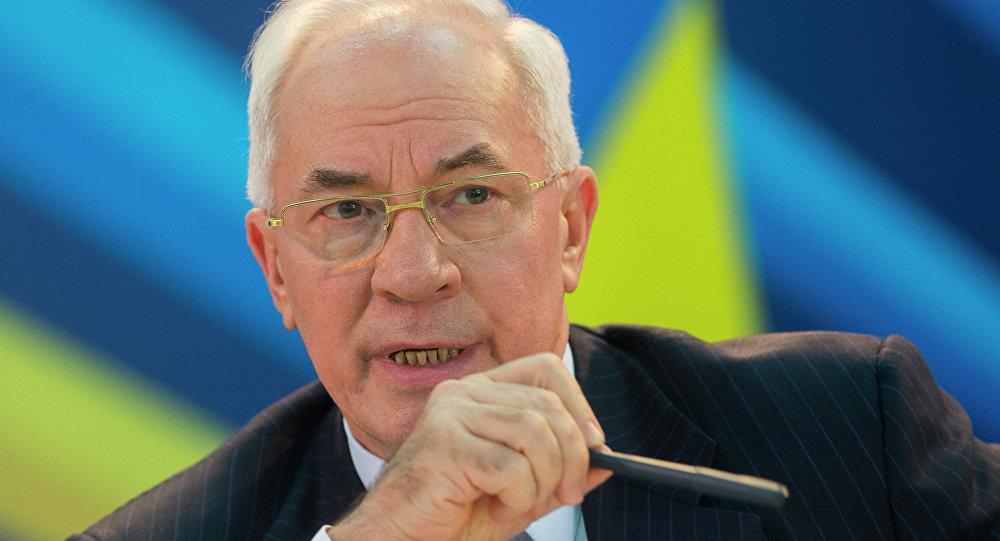 Bývalý ukrajinský premiér Mykola Azarov