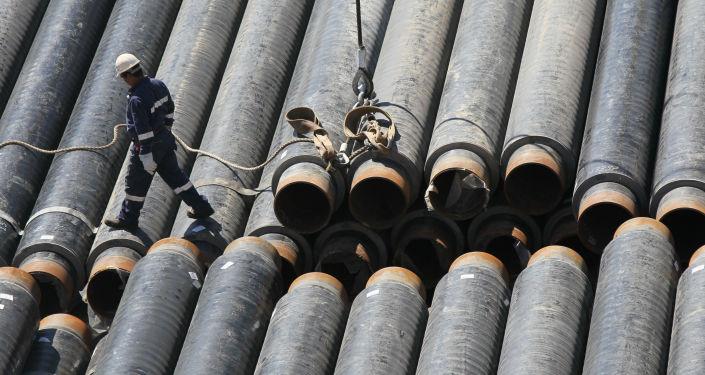 Budování plynovodu