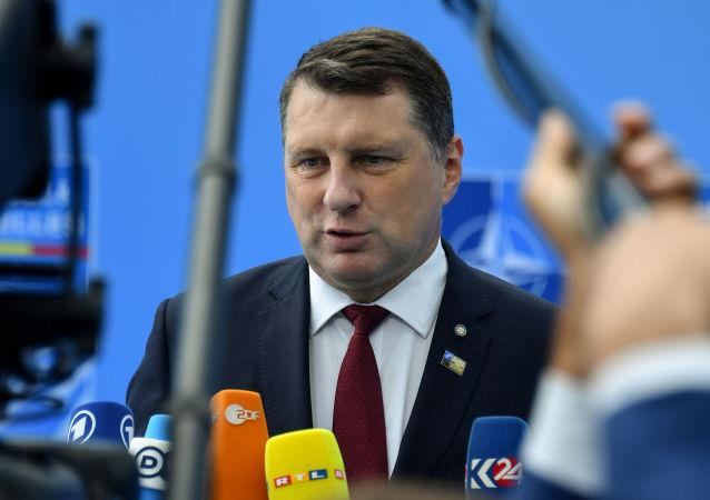 Lotyšský prezident Raimonds Vējonis