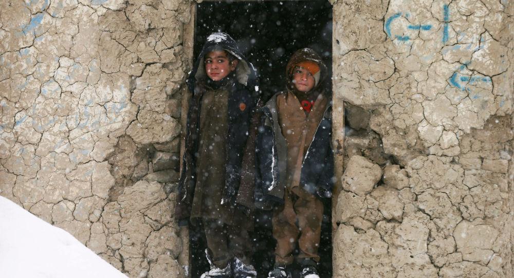 Děti v Kábulu, Afghánistán