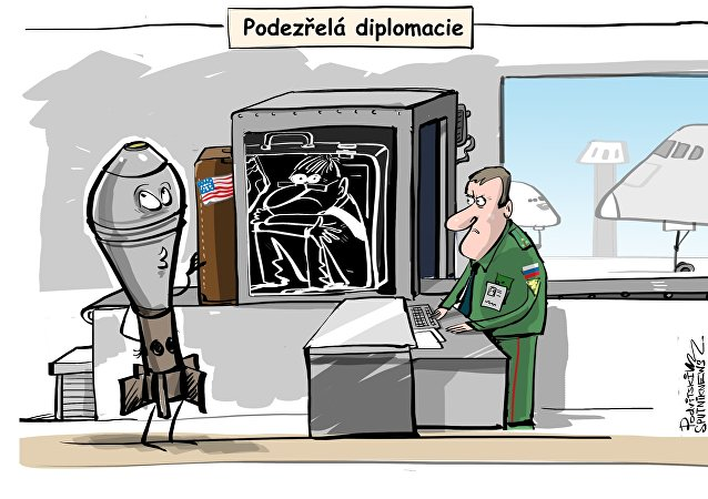 Podezřelá diplomacie