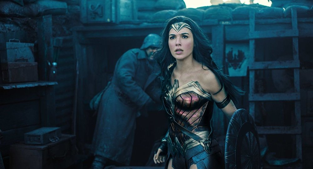 Gal Gadot ve filmu Wonder Woman