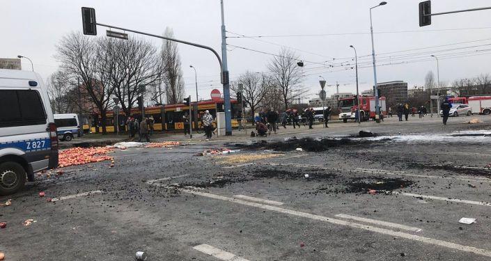 Farmáři protestují ve Varšavě