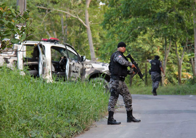 Brazilská policie. Ilustrační foto