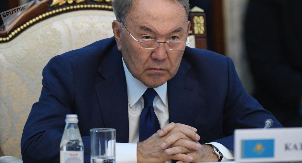 Prezident Kazachstánu Nursultan Nazarbajev