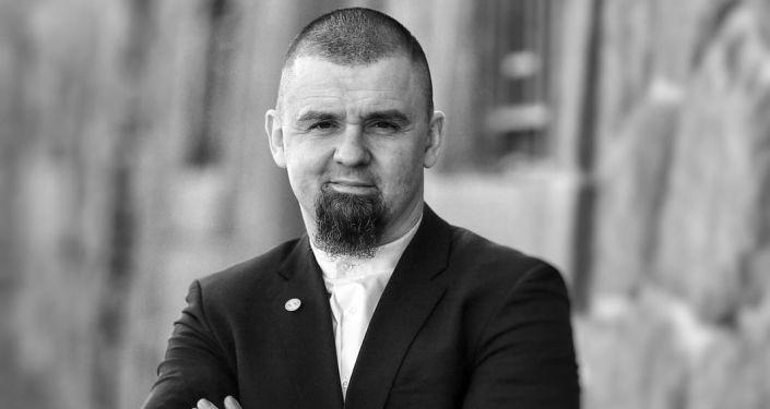 Právník Leonid Kušnarenko, předseda pražské muslimské obce