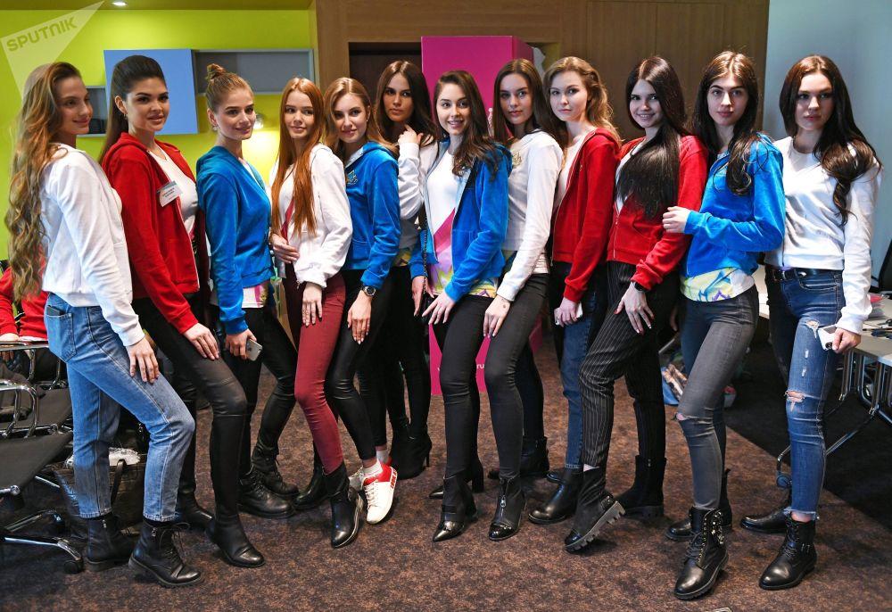 Krásný začátek. Účastnice soutěže krásy Miss Rusko 2019