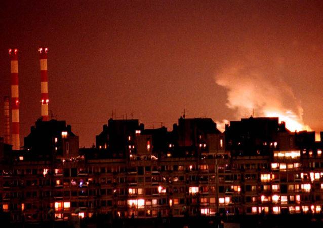 Bombardování Bělehradu silami NATO