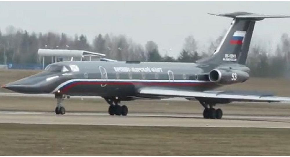 Nejvzácnější letadlo ruského námořnictva (VIDEO)