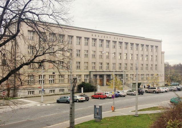 Budova Krajského soudu v Hradci Králové
