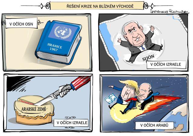 Sýrie navrhla vyřešit krizi na Blízkém východě