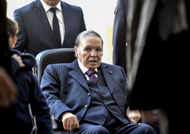 Alžírský prezident Abdal Azíz Buteflika