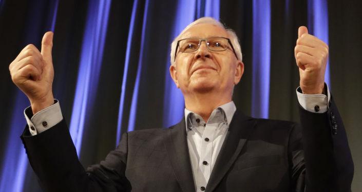 Senátor a dřívější prezidentský kandidát Jiří Drahoš