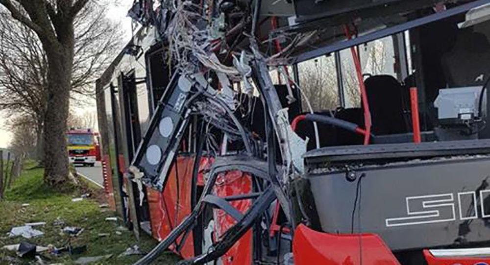 V Německu autobus narazil do stromu