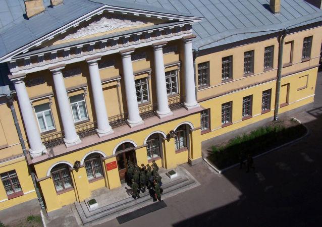 Budova Vojensko-vesmírné akademie A. F. Možajského v Petrohradu