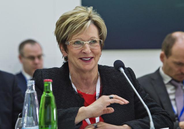 Ministryně průmyslu a obchodu ČR Marta Nováková