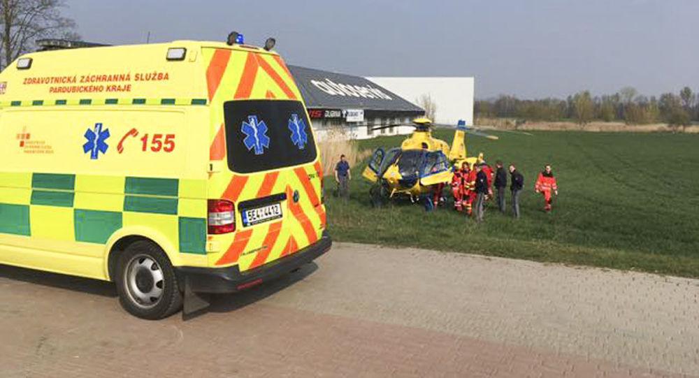 Záchranáři při zásahu. Illustrační foto