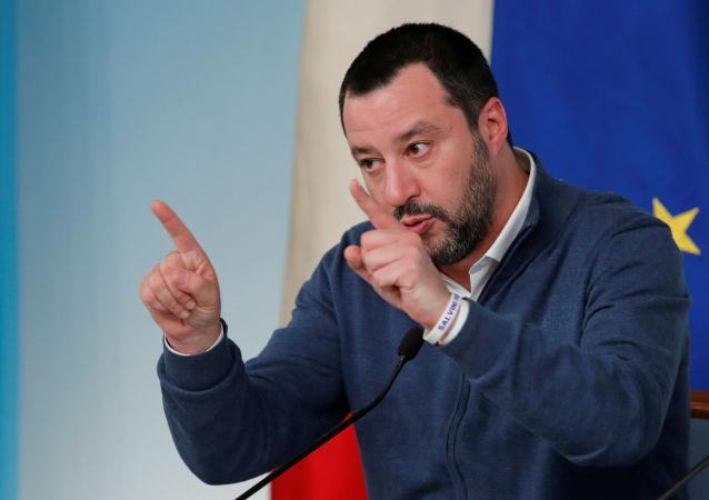 Italský premiér Matteo Salvini