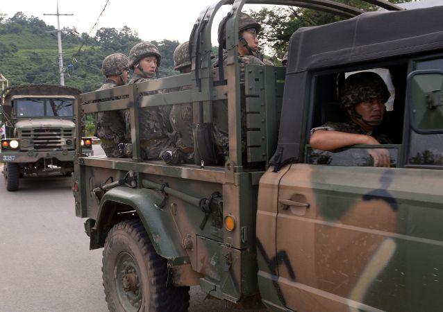 Hranice Jižní Koreje a KLDR