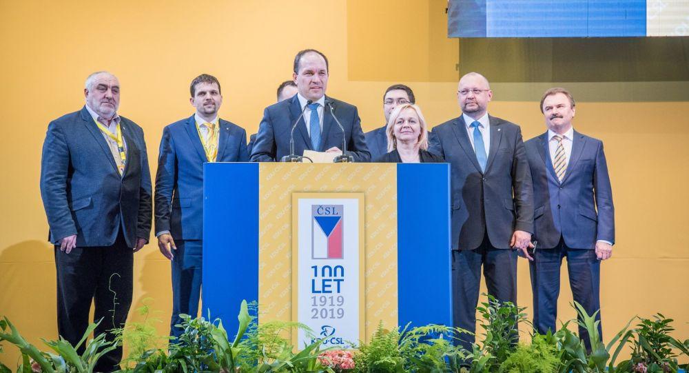 Zástupci strany KDU-ČSL