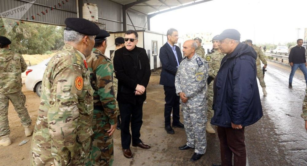 Předseda libyjské vlády Fayez Sarraj