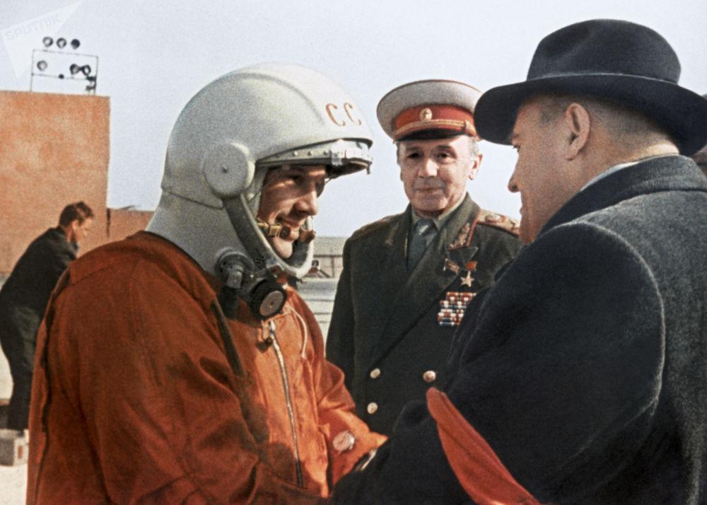Přání Sergeje Koroljova kosmonautovi Juriji Gagarinovi