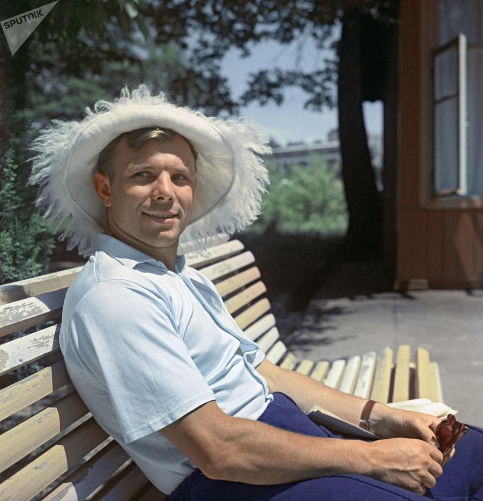 První kosmonaut na světě, hrdina Sovětského svazu, Jurij Gagarin