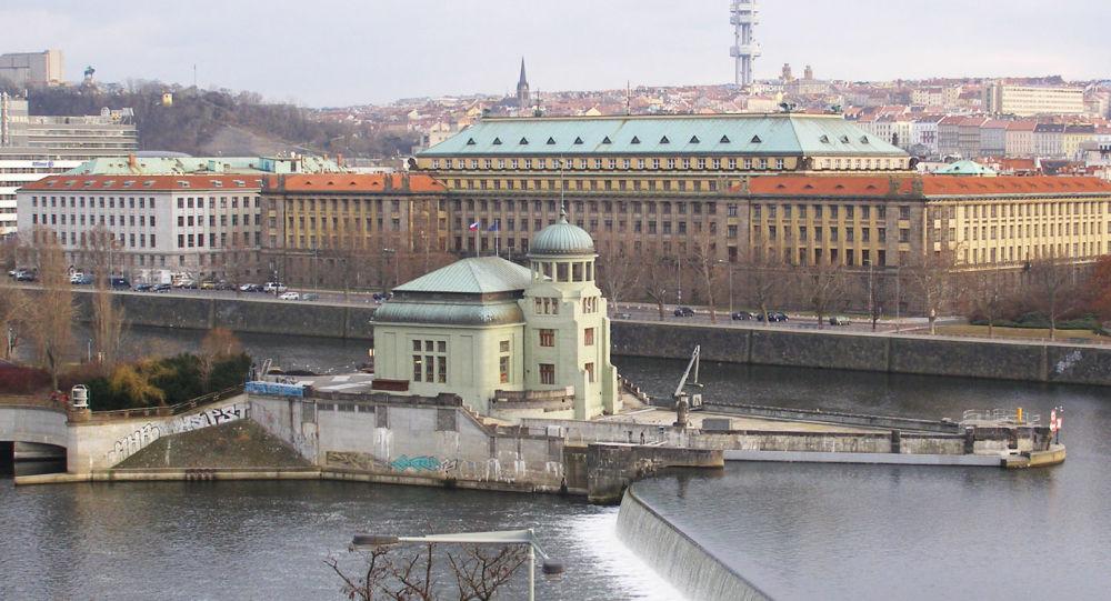 Budova ministerstva dopravy ČR