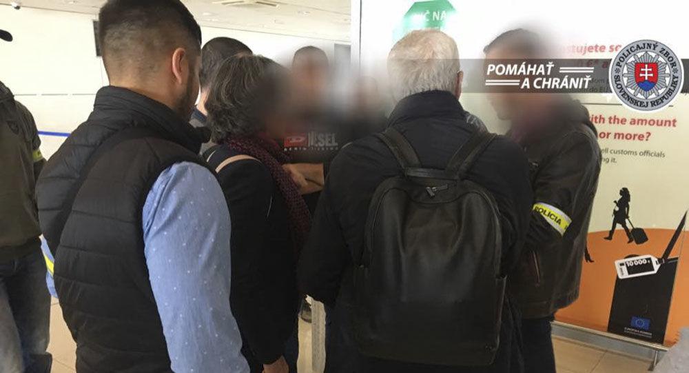 Zadržení Itala