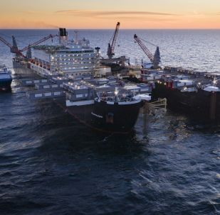 Loď Pioneering Spirit. Výstavba plynovodu Nord stream 2