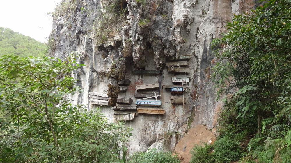 Tajemné závěsné rakve Sagada, Filipíny