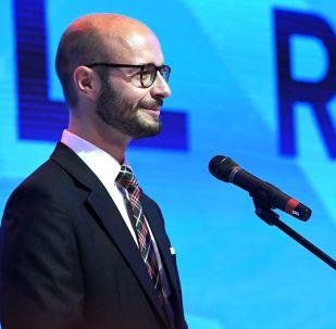 Detlef Wimmer na Mezinárodním ekonomickém fóru v Jaltě
