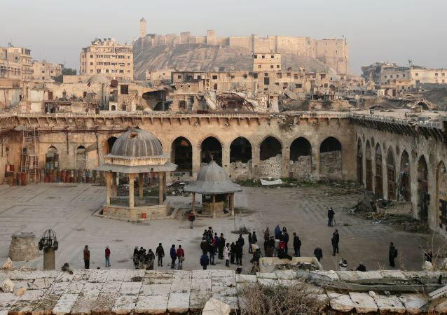 Umajjovská mešita v Aleppu