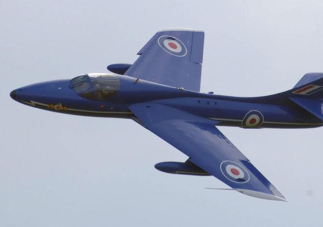 Stíhačka-bombardér Hawker Hunter