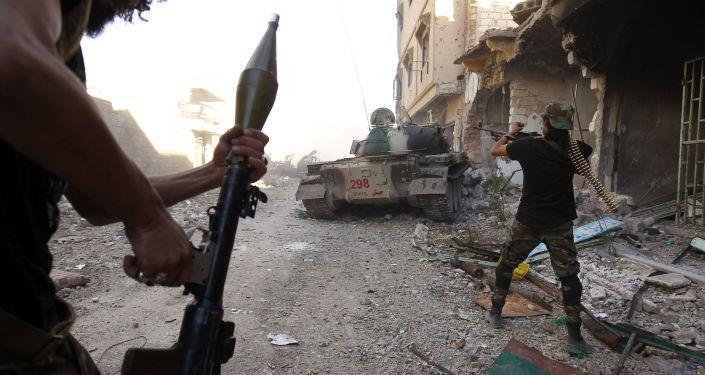 Operace Libyjské národní armády. Illustrační foto