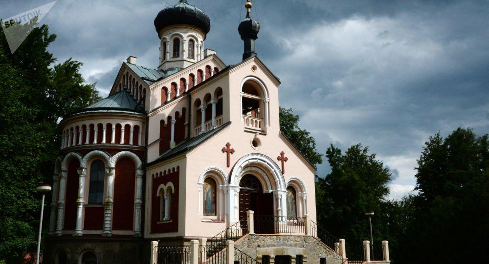 Chrám svatého Vladimíra v Mariánských Lázních