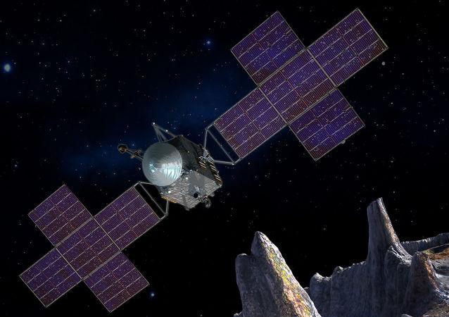 Umělecká představa kosmické lodě NASA