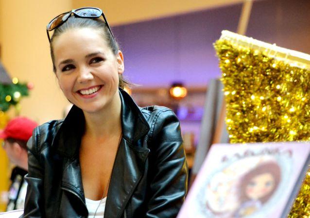 Česká zpěvačka Lucie Vondráčková