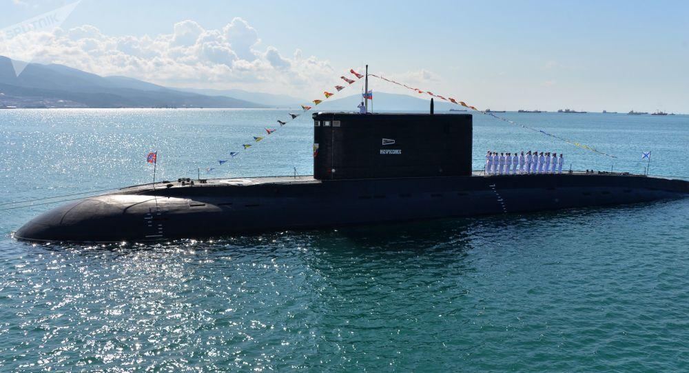 Ruská ponorka Novorossijsk