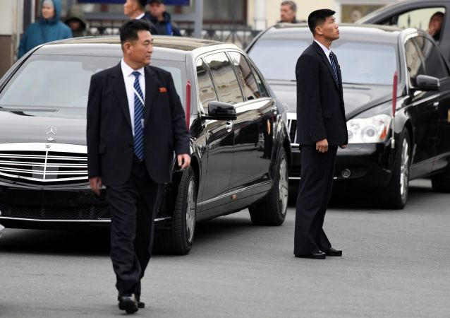 Severokorejský vůdce Kim Čong-un ve Vladivostoku