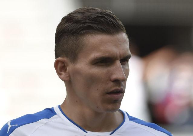 Český fotbalista Josef Šural