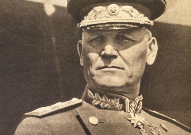 Maršál Sovětského svazu Ivan Koněv