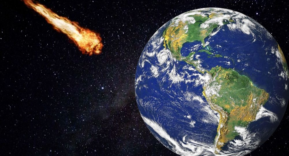 Asteroid. Illustrační foto.
