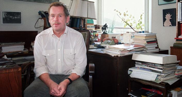 Bývalý prezident Československa Václav Havel