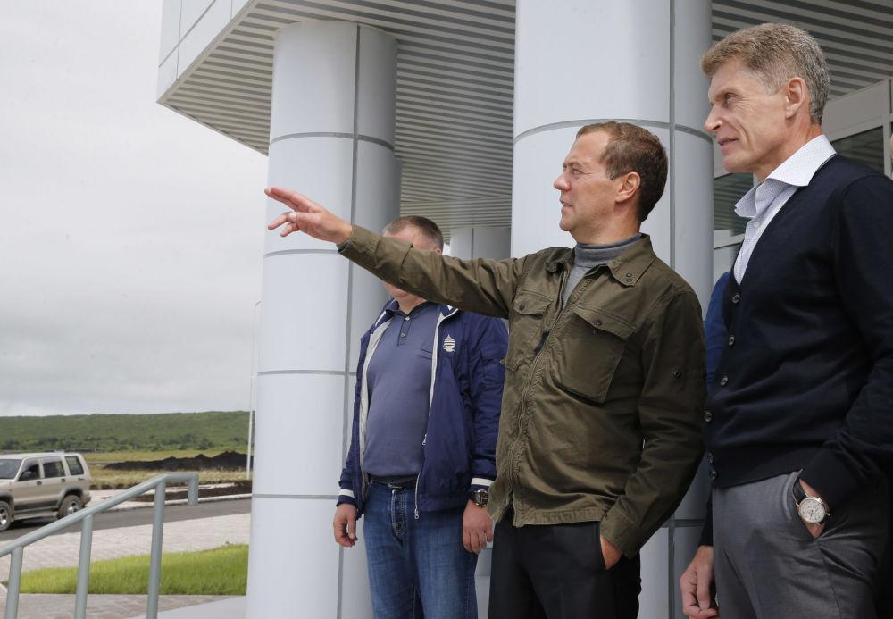 Setkání s vedením Sachalinské oblasti
