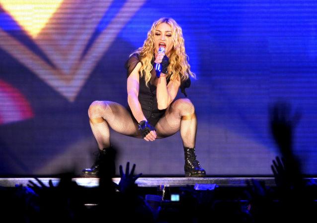 Americká zpěvačka Madonna