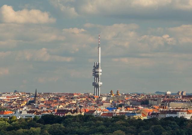 Žižkovská televizní věž v Praze