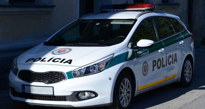 Auto slovenské policie