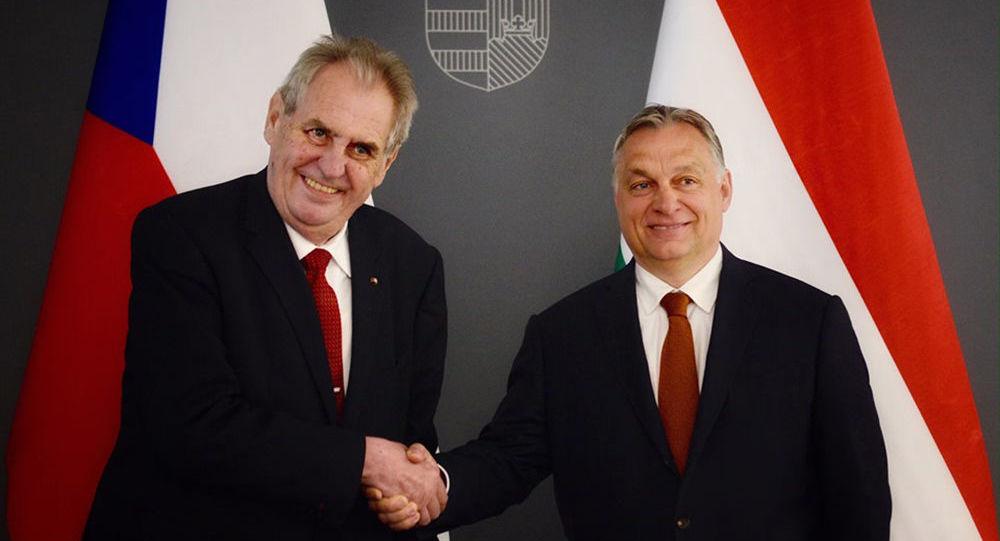 Miloš Zeman a Viktor Orbán