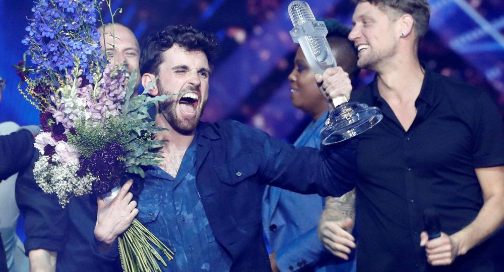 Vítěz Eurovize 2019 nizozemský zpěvák Duncan Laurence